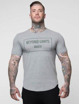Beyond Limits Tričká Signature šedá