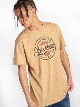 Billabong t-shirt Plaza geel