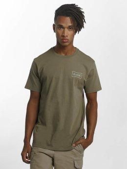 Billabong t-shirt Craftman  groen