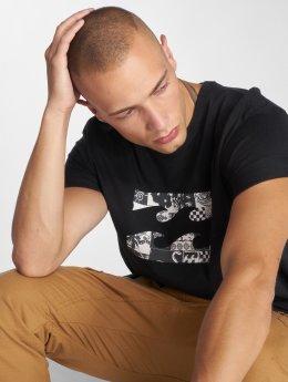 Billabong t-shirt Team Wave zwart