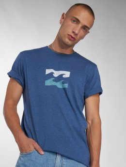 Billabong T-shirts Wave blå