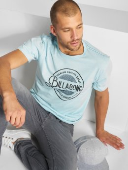 Billabong T-Shirty Plaza niebieski