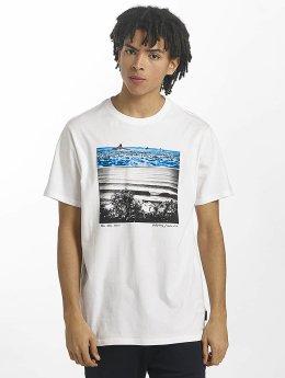 Billabong T-skjorter Blue hvit