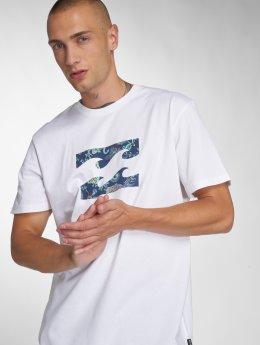 Billabong T-skjorter Team Wave hvit