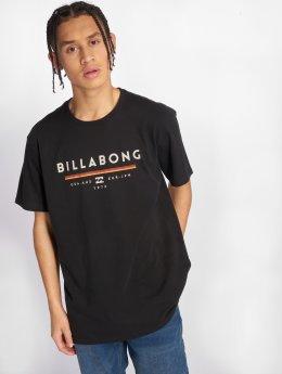 Billabong Tričká Unity èierna