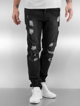 Black Kaviar Straight Fit Jeans Koop schwarz