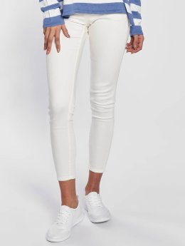 Blend She Bright Jazy Crop Skinny Jeans Bright White