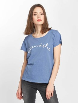 Blend She T-Shirt Cute R blau