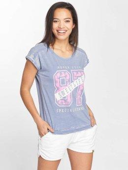 Blend She T-Shirt Sweet R blau