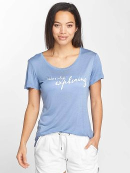 Blend She t-shirt Vibe R blauw