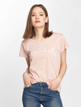Blend She Cute R logo T-Shirt Cameo Rose