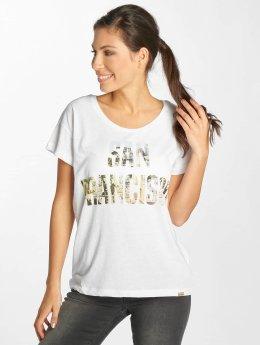 Blend She T-Shirt Fran R white