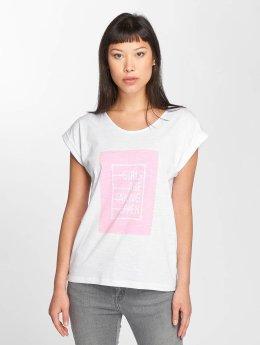 Blend She T-skjorter Girls R hvit