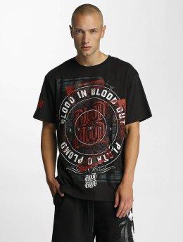 Blood In Blood Out Camiseta Plata O Plomo negro