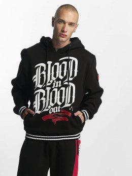 Blood In Blood Out Felpa con cappuccio Logo nero