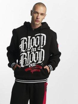Blood In Blood Out Hoodies Logo  čern