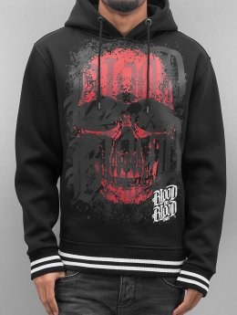 Blood In Blood Out Hoody Red Calavera schwarz
