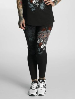 Blood In Blood Out Legging Manos Orando zwart
