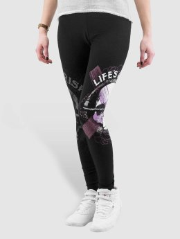 Blood In Blood Out Leggingsit/Treggingsit Blood Art Skull musta