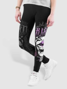 Blood In Blood Out Leggingsit/Treggingsit Blood Harlekin Insane musta