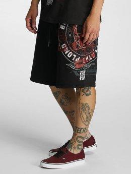 Blood In Blood Out Pantalón cortos Plata O Plomo negro
