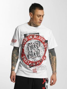 Blood In Blood Out T-paidat Out Plata O Plomo valkoinen