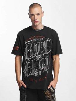 Blood In Blood Out T-Shirt Emblema noir