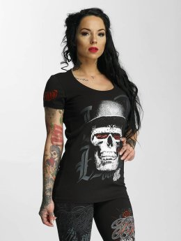 Blood In Blood Out T-Shirt Skull Hat schwarz