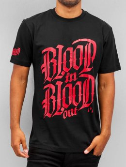 Blood In Blood Out t-shirt Logo zwart