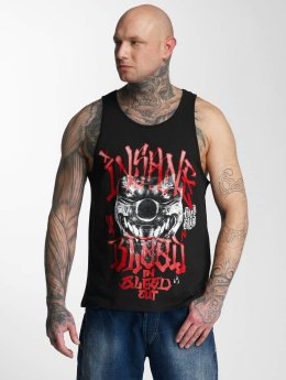 Blood In Blood Out Tank Tops Out Red Harlekin musta