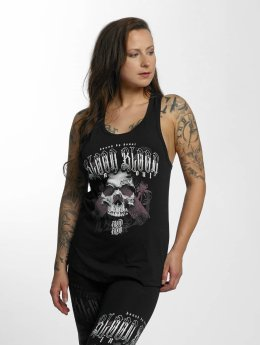 Blood In Blood Out Tanktop Black Honor zwart