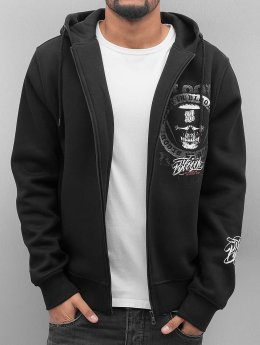 Blood In Blood Out Zip Hoodie Trocadero black