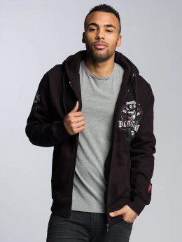 Blood In Blood Out Zip Hoodie Sonora black