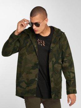 Brave Soul Lightweight Jacket Motram camouflage