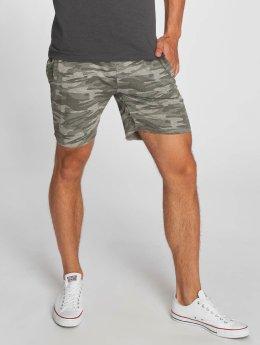 Brave Soul Shorts Crewgrey camouflage