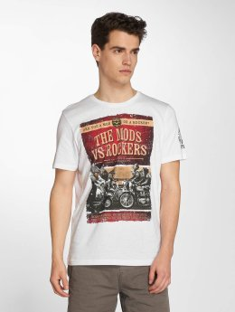 Brave Soul T-paidat Brighton valkoinen
