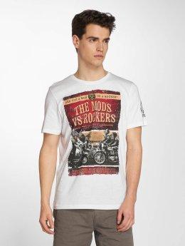 Brave Soul T-Shirt Brighton blanc