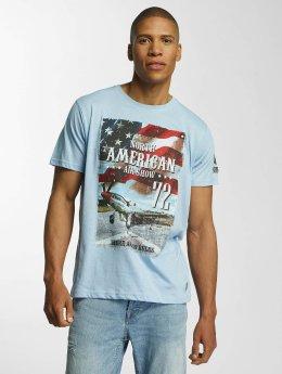 Brave Soul Large T-Shirt Blue