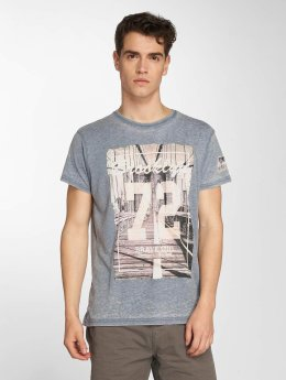 Brave Soul T-Shirt Bridge blau