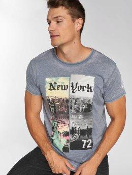 Brave Soul T-Shirt Broadway blau