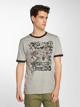 Brave Soul T-Shirt Drift grau