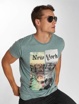Brave Soul T-Shirt Broadway green