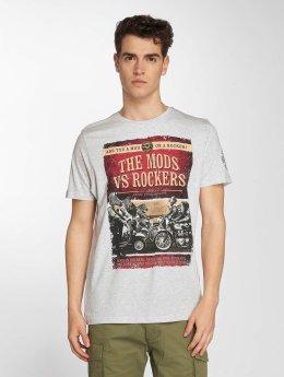 Brave Soul t-shirt Brighton grijs
