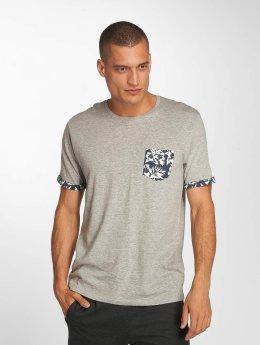 Brave Soul T-Shirt Viola gris
