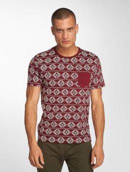 Brave Soul t-shirt Deon rood