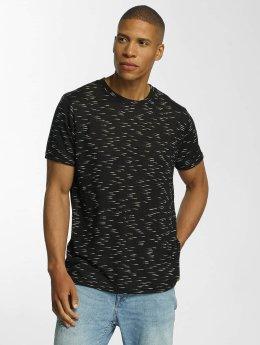 Brave Soul T-Shirt All Over schwarz