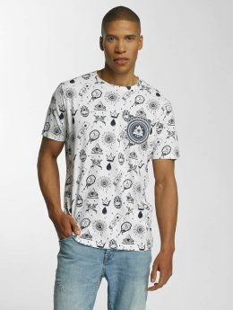 Brave Soul T-Shirt All Over Print weiß