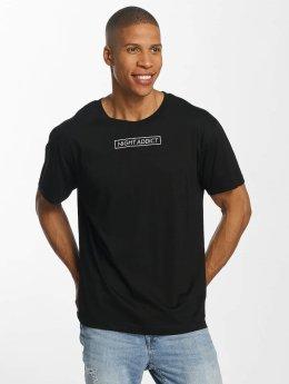Brave Soul t-shirt Message zwart