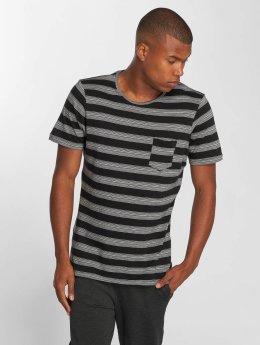 Brave Soul t-shirt Gravel  zwart
