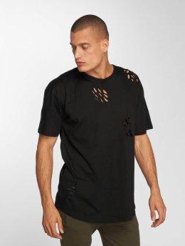 Brave Soul T-Shirty Benji czarny